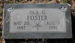 Ola Georgia Foster