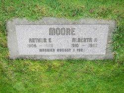 Alberta <i>Albright</i> Moore, Jr