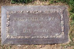 Marguerite Rose Mccomb