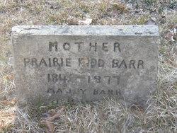 Prairie <i>Kidd</i> Barr