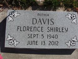 Florence Shirley <i>Sanders</i> Davis