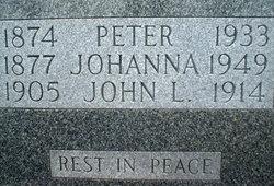 Johanna <i>Fitzgerald</i> Saint Onge