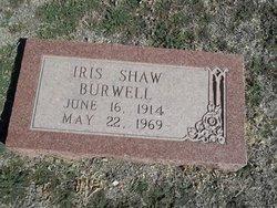 Georgia Iris <i>Shaw</i> Burwell
