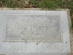 Meredith Family Cemetery