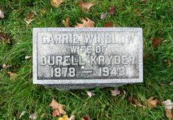 Carrie <i>Winslow</i> Kryder