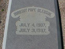 Dorothy Pope Dot Bledsoe
