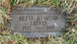 Bette Josephine <i>Hood</i> Eberts