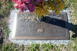 Betty E. Berry Jones