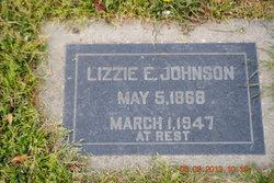 Lizzie Elnora Nora <i>Turner</i> Johnson