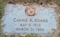 Carrie A Adams