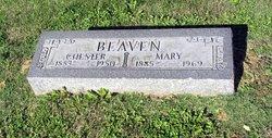Mary <i>Greenwell</i> Beaven