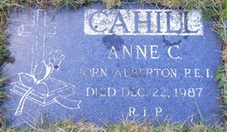 Anne Constance Cahill