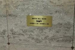 Martha Nell <i>Moore</i> Rampy