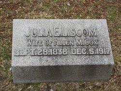 Julia Elizabeth <i>Liscom</i> Cox