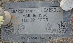 Sharon <i>Harrington</i> Carroll