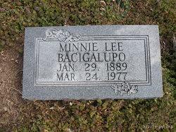 Minnie Lee <i>Dobbins</i> Bacigalupo