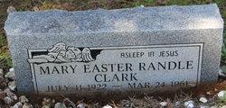 Mary Easter <i>Randle</i> Clark