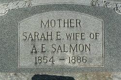 Sarah E Salmon