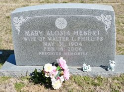 Mary Alosia <i>Hebert</i> Phillips
