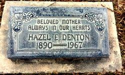 Hazel Mae <i>Foster</i> Denton