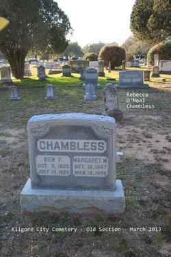 Benjamin Franklin Chambless