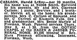 Harold Leroy Carlson