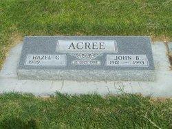 Hazel G <i>Massengale</i> Acree