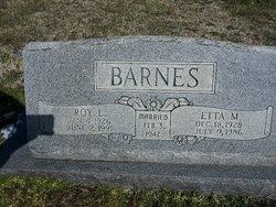 Roy Lee Barnes