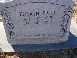Eurath <i>Burns</i> Babb