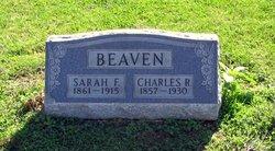 Sarah Frances Sally <i>Neal</i> Beaven
