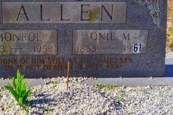 Oni M. Allen
