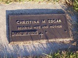 Christina Marie <i>Lang</i> Edgar
