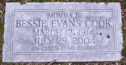 Bessie <i>Evans</i> Cook