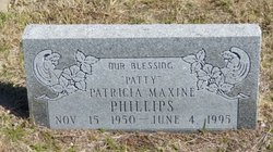Patricia Maxine Patty Phillips