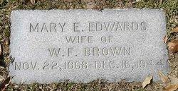 Mary Emmoline <i>Edwards</i> Brown