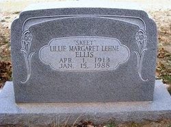 Lillie Margaret Skeet <i>Lehne</i> Ellis