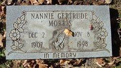Nannie Gertrude Morris
