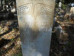 Carrie Lee <i>Jones</i> Dale