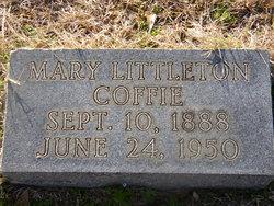 Mary <i>Littleton</i> Coffie