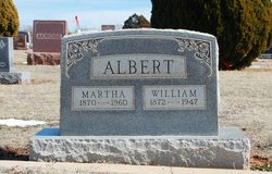 Martha <i>Warlick</i> Albert