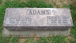 Elizabeth <i>Moore</i> Adams