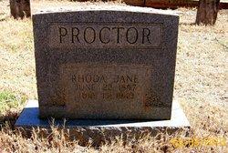 Sarah Rhoda Jane <i>Sanders</i> Proctor