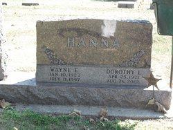Wayne Everett Hanna