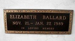 Elizabeth <i>Lynn</i> Ballard
