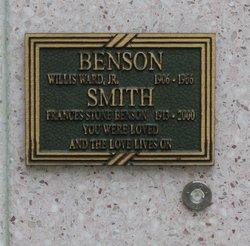 Frances Stone Benson Smith