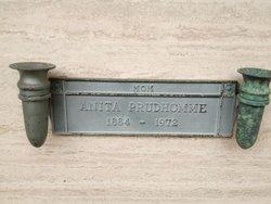 Anita Rosalia Eleanora <i>Petrina</i> Prudhomme