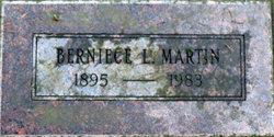 Berniece L Martin