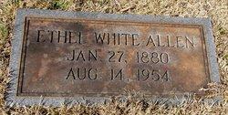 Ethel <i>White</i> Allen