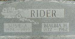 Bialbia H. Rider