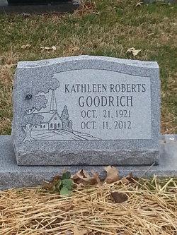 Kathleen Granny <i>Roberts</i> Goodrich